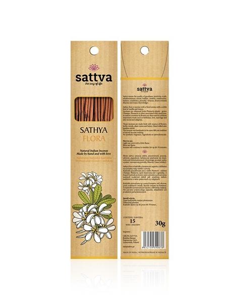SATTVA AYURVEDA kadzidła zapachowe Incense Sathya