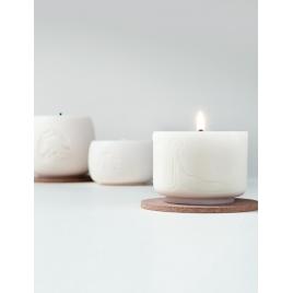 KANDELO świeca Yoga Small z wosku rzepakowego