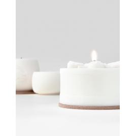 KANDELO świeca Mandala z wosku rzepakowego