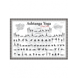 Plakat Ashtanga Yoga Platyna