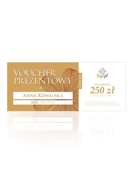 Karta Prezentowa na kwotę 250 zł