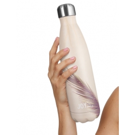 JOY IN ME Butelka termiczna DROP Nude Harmony 500 ml
