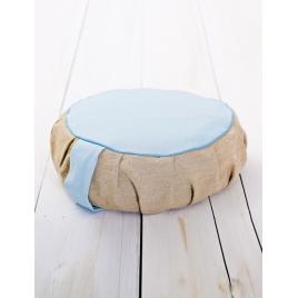 PLANTULE poduszka do medytacji i siedzenia błękitna