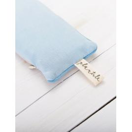 PLANTULE poduszka na oczy lub pod nadgarstek błękitna