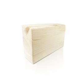 Klocek do jogi drewniany - sosna