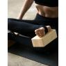 Klocek do jogi drewniany - buk