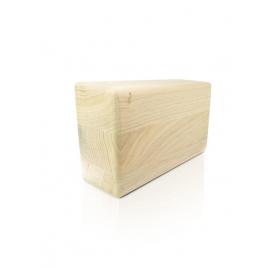 Klocek do jogi drewniany - dąb