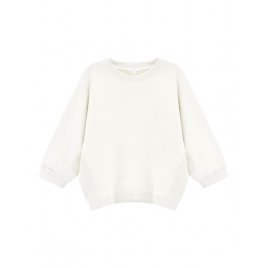 JOY IN ME Miękka Bluza Soft Pullover - Off White