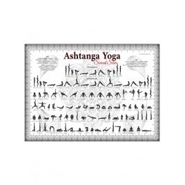 Plakat Ashtanga Yoga Platyna Seria II
