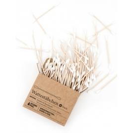 Patyczki higieniczne 100% biodegradowalne z bawełny i bambusa 100 szt.