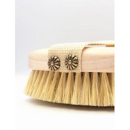 Szczotka do masażu ciała - włosie z kaktusa agawy