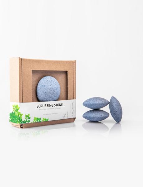 Kamień Peelingujący do Całego Ciała - Niebieski