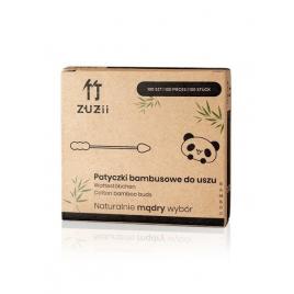 Patyczki kosmetyczne bambusowe w kształcie szpicu/bałwanka
