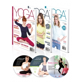 Pakiet Yoga & Ayurveda Z Płytami DVD