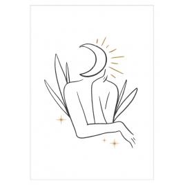 """Plakat """"Moon Child"""""""