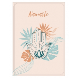 """Plakat """"Namaste"""""""