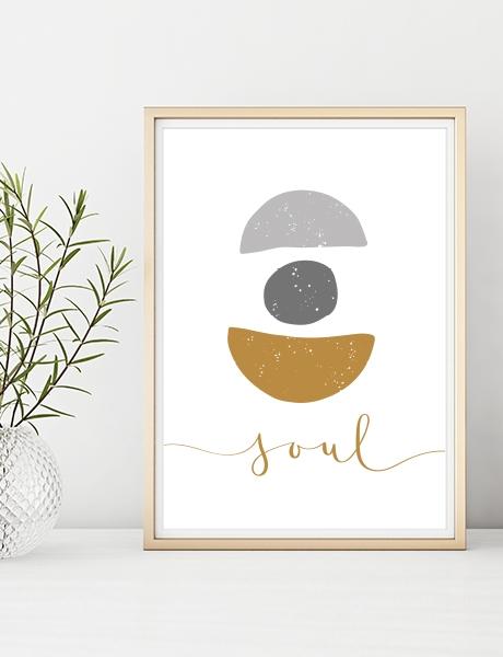 "Plakat ""Soul"""