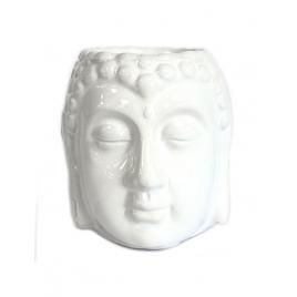 Kominek zapachowy do olejków - Budda (biały)