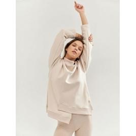 Moonholi Bluza do jogi Comfy Milky Way Sweatshirt (Sandy Beach)
