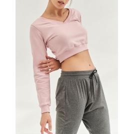 Moonholi Spodnie do jogi Cosmic Cropped Track Pants (Silver Moon)