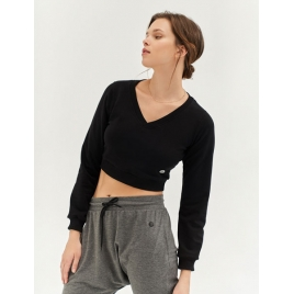 Moonholi Top do jogi Moondust Crop Top (Black Sky)