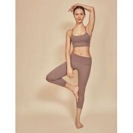 Moonholi Biustonosz do jogi Simple Beige (beżowy)
