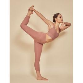 Moonholi Legginsy do jogi Yoggings™ 7/8 Nude (nudziak)