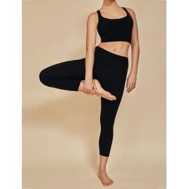 Moonholi Legginsy do jogi Yoggings™ 7/8 Black (czarne)