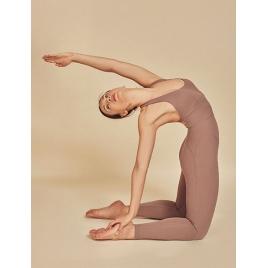 Moonholi Kombinezon do jogi Harmony Nude (nudziak)
