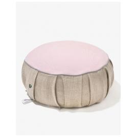 PLANTULE poduszka do medytacji i siedzenia różowa