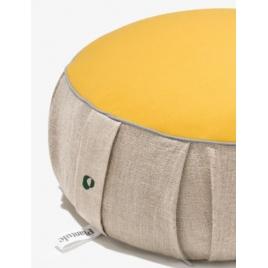 PLANTULE poduszka do medytacji i siedzenia żółta