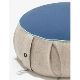PLANTULE poduszka do medytacji i siedzenia niebieska