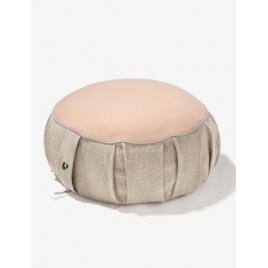 PLANTULE poduszka / pufa do medytacji i siedzenia beżowa