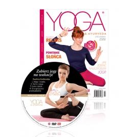 Magazyn Yoga & Ayurveda nr 3/2016 z Płytą DVD