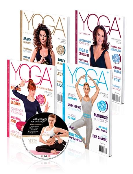Pakiet Yoga & Ayurveda 2016 z płytą DVD