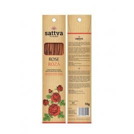 SATTVA INCENSE ROSE 30G NATURALNE